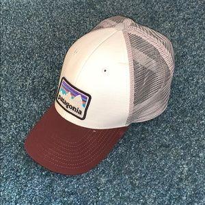 Maroon Patagonia Hat 🧢